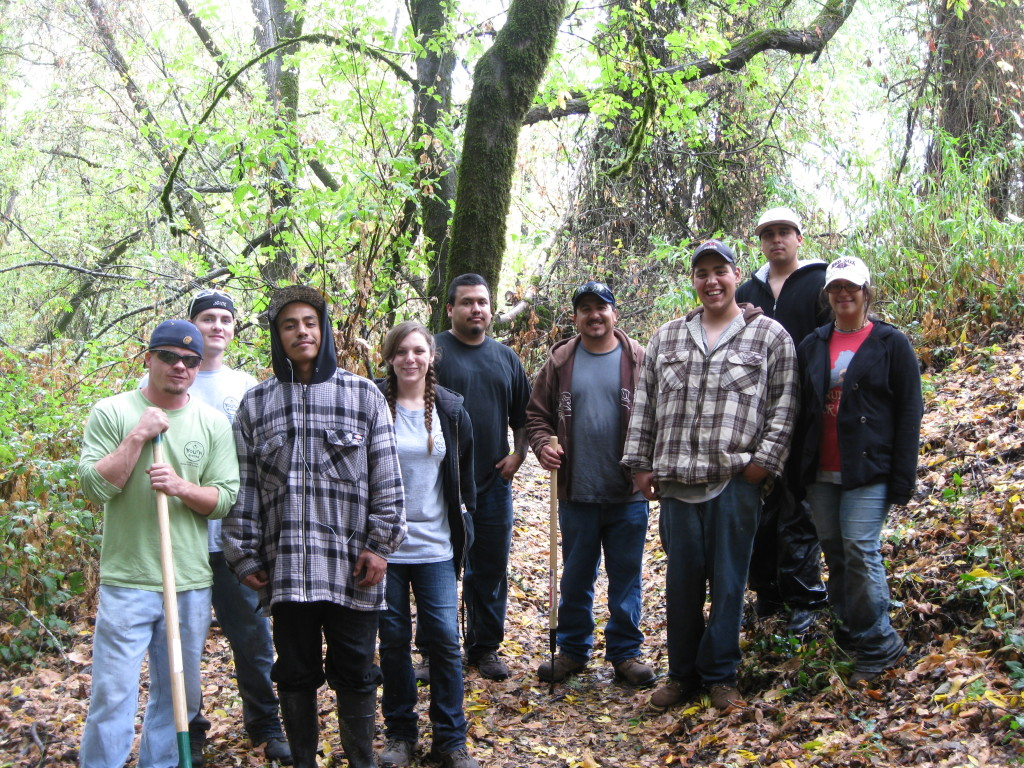 Sonoma County Youth Ecology Corps - Youth @ Work in Our Community